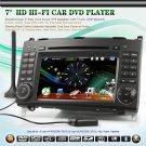 "Benz car dvd player 7"" HD Car DVD Player GPS DVB-T iPod PiP with Can-bus decoder"