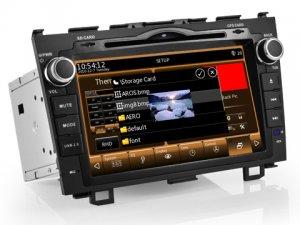 New 8 inch Car PC for Honda CRV WIFI 3G Modem Car GPS , Car Radio, 2 Din Car DVD Player