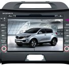 7 Inch 2 Din Car DVD Player Special For Sportage R 2010 MP5 3G 8GB