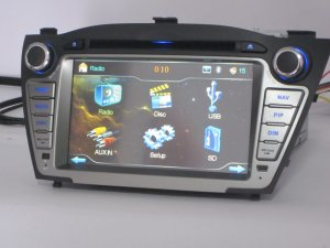Hyundai IX35 auto DVD player