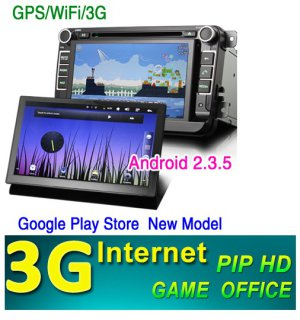 VW GOLF5 6 PASSAT TIGUAN TOURAN Tiguan Sharan POLO SKODA DVD GPS Bluetooth NAVI 3G internet android