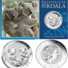 2011 Australia 1/10 OZ Silver Koala *SEALED* With Presentation Card