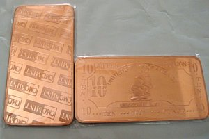 �HUGE� 10 OZ OUNCE .999 COPPER SHIP/ BOAT BAR SEALED �FREE SHIPPING�
