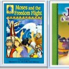 3 Bible Stories Children's Book Lot - Free Shipping