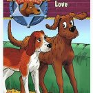 3 Children's Book Lot - Dogs -Hank, Faded Love + 2 Animal Ark Books