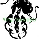 Crazy Tribal Art Style #2 Decal Sticker