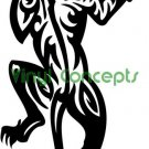 Tribal Animal Style #2 (Tiger Cat) Decal Sticker
