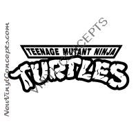 Teenage Mutant Ninja Turtles Logo Decal Sticker