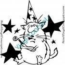 Funny Cat Feline Style #2 Decal Sticker
