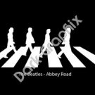 The Beatles Abbey Road Band Music Artist Logo Decal Sticker