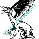 Dragon Style# 1(Fantasy & Science Fiction) Decal Sticker