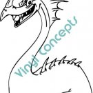 Funny Dragon Style#1 (Fantasy & Science Fiction) Decal Sticker