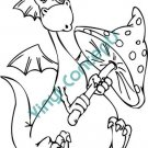 Funny Dragon Style#2 (Fantasy & Science Fiction) Decal Sticker