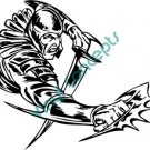 Fantastic Warrior Style#2 (Fantasy & Science Fiction) Decal Sticker