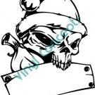 Skull Template #1 (Fantasy & Science Fiction) Decal Sticker