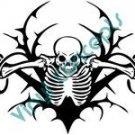Skull Vegatation #1 (Fantasy & Science Fiction) Decal Sticker