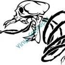 Skull Vegatation #2 (Fantasy & Science Fiction) Decal Sticker