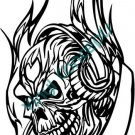 Skull Tattoo #2 (Fantasy & Science Fiction) Decal Sticker