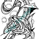 Water Monster #2 (Fantasy & Science Fiction) Decal Sticker
