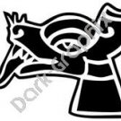 Itzcuintli Dog Aztec Ancient Logo Symbol (Decal - Sticker)