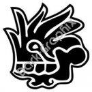 Malinalli Herb Aztec Ancient Logo Symbol (Decal - Sticker)