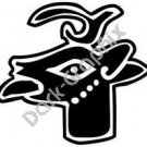 Mazatl Deer Aztec Ancient Logo Symbol (Decal - Sticker)