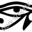 Eye of Horus Egyptian Ancient Logo Symbol (Decal - Sticker)
