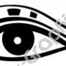 Look, Blink, Be Thankfull Egyptian Ancient Logo Symbol (Decal - Sticker)