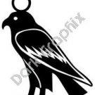Ra Harakhti Egyptian Ancient Logo Symbol (Decal - Sticker)