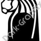 Strength Egyptian Ancient Logo Symbol (Decal - Sticker)