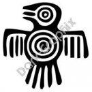 Bird Meso Deko Ancient Logo Symbol (Decal - Sticker)