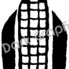 Maize Native American Ancient Logo Symbol (Decal - Sticker)