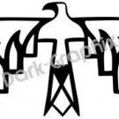 Thunderbird Native American Ancient Logo Symbol (Decal - Sticker)