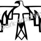 Thunderbird Native American Ancient Logo Symbol (Decal - Sticker)