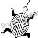 Turtle Native American Ancient Logo Symbol (Decal - Sticker)
