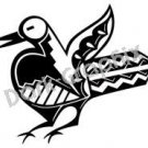 Bird Southwest Ancient Logo Symbol (Decal - Sticker)