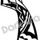 Kachina Southwest Ancient Logo Symbol (Decal - Sticker)