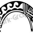 Rainbow Kachina Southwest Ancient Logo Symbol (Decal - Sticker)