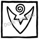 Southwest 2 Ancient Logo Symbol (Decal - Sticker)