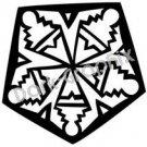 Southwest 6 Ancient Logo Symbol (Decal - Sticker)