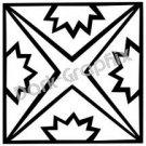 Southwest 13 Ancient Logo Symbol (Decal - Sticker)