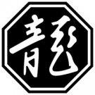 Dragon 2 Chinese Zodiac Logo Symbol (Decal - Sticker)