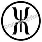 Jupitors staff Astronomy Logo Symbol (Decal - Sticker)