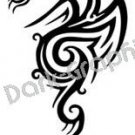 Dragon 20 Fantasy Logo Symbol (Decal - Sticker)