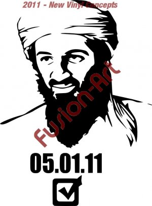 Bin Laden 5-01-2011 Killed (Decal - Sticker)
