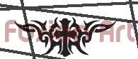 Tribal Tattoo Design Element Style 5 (Decal - Sticker)