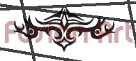 Tribal Tattoo Design Element Style 11 (Decal - Sticker)