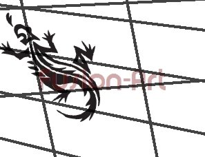 Tribal Tattoo Design Element Style 22 (Decal - Sticker)