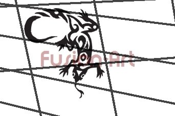 Tribal Tattoo Design Element Style 23 (Decal - Sticker)
