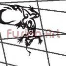 Tribal Tattoo Design Element Style 23 (Decal - Sticker)